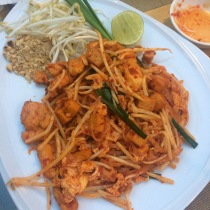 """Spicy"" pad thai"
